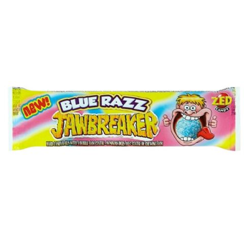 Blue Razz Jawbreaker 4 Pack Zed Candy Novelty Bubblegum Sweets